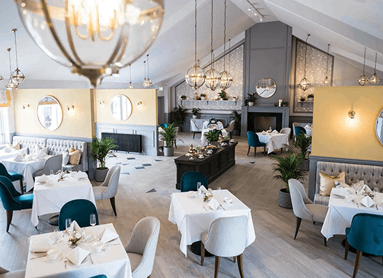 Haivaren Hotels tables tearoom