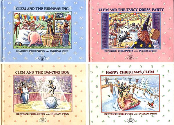 1987年に発行された、クレムを主人公にした絵本たち